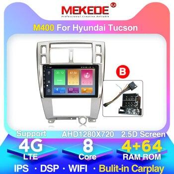 MEKEDE M200 Car Radio Multimedia Player autoradio Navigation GPS  For Hyundai Tucson 2006-2014 2.5D IPS Android10.0