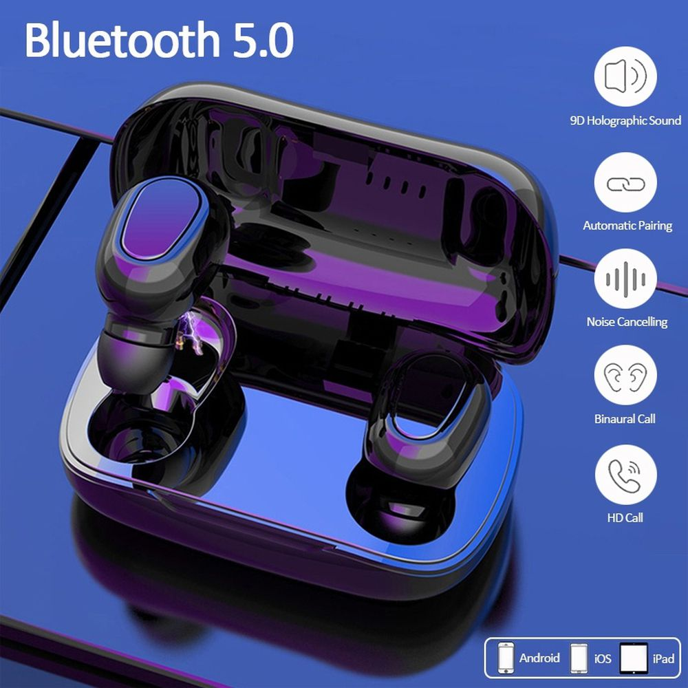 TWS Pro Wireless earphone bluetooth headphone Waterproof one de ouvido Stereo Headset Bluetooth 5.0 Touch Game Earbuds Headphone