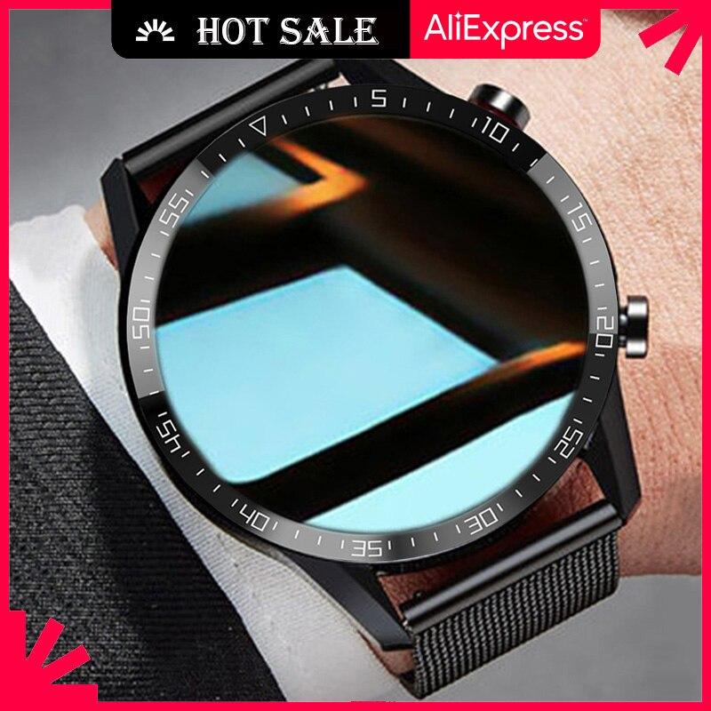 Смарт-часы Ipbzhe мужские на Android 2021 с Bluetooth, Смарт-часы для звонков, мужские спортивные Смарт-часы с ЭКГ, умные часы для IOS, Huawei, Iphone