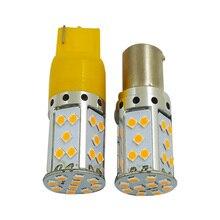 Signal-Lamp W21/5W Tail-Brake-Lights-Light Led-Bulbs WY21W Reverse T20 Led 35SMD 1156