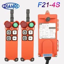 F21-4S 110v 12v 24v 220v 380v controle remoto de rádio sem fio industrial interruptor do guindaste de controle de pressão de reset interruptor do guindaste