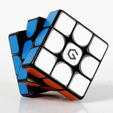 Youpin Giiker M3 마그네틱 큐브 3x3x3 생생한 컬러 스퀘어 매직 큐브 퍼즐 어린이를위한 과학 교육 성인 선물