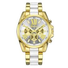 Luxury Three Eyes Watch Women Waterproof Rose Gold Steel Strap Ladies Wrist Watches Top Brand Bracelet Clock Relogio Feminino