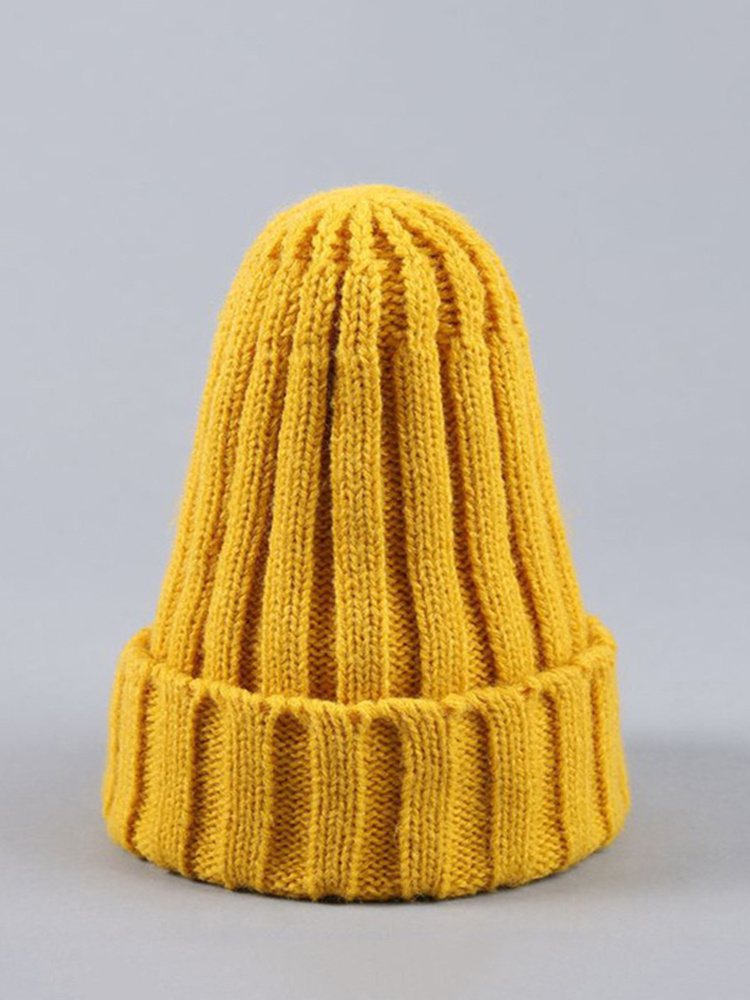 Knitted Kids Beanie Cap Infant Baby Boy Girl Hat Warm Children Baby Autumn Winter Girls