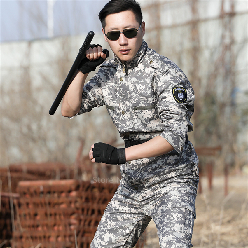 Army Camouflage US Military Uniform Special Force Tactical Clothing Multicam Suit Work Clothes Men Soldier Airsoft Combat Proven
