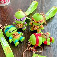 Women Bags Keychains-Accessories Key-Rings Gifts Turtle Character Cartoon Jewelry Animation