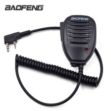 """Baofeng радио динамик микрофон PTT для портативный двухстороннее радио иди и болтай Walkie Talkie """"иди и UV-5R UV-5RE UV-5RA плюс UV-6R"""