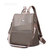 Fashion Lightweight Womens Backpack Oxford Waterproof Classic Elegant Girl Rucksack Shopping Leisure School Bag New Design