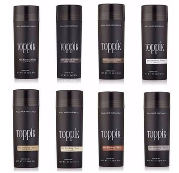 Toppik Hair Growth Fibers Keratin Thickening Spray Hair Building Fibers 27.5g Hair Loss Products Instant Wig Regrowth Powders Beauty Tools