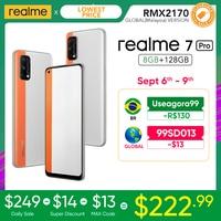 realme 7 Pro Global Version 8GB RAM 128GB ROM 65W SuperDart Charge 64MP Quad Camera AMOLED In-display Fingerprint 1