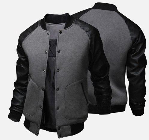 ZOGAA 2019 New Brand Baseball Coats Casual Jackets 2019 Fashion Design Spring Autumn Sports Slim Fit Jacket Men Brand Size 5XL