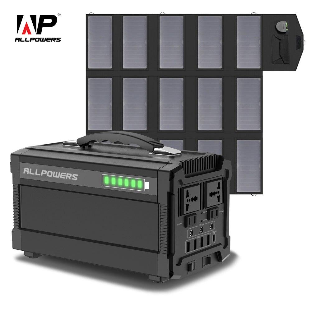 Chargeur solaire portatif de batterie au Lithium du générateur 288Wh d'allpuissances 78000mA avec le panneau solaire 100W alimentation de secours 110V 220V prise ca