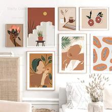 Абстрактная Картина Натюрморт жизнь плакат фрукты персонажи