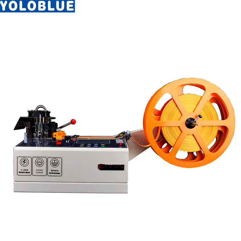 988T komputer automatyczna maszyna do cięcia pasków ciepłej i zimnej tkaniny magiczna taśma klejąca zipper parciany maszyna elastyczny pas do cięcia