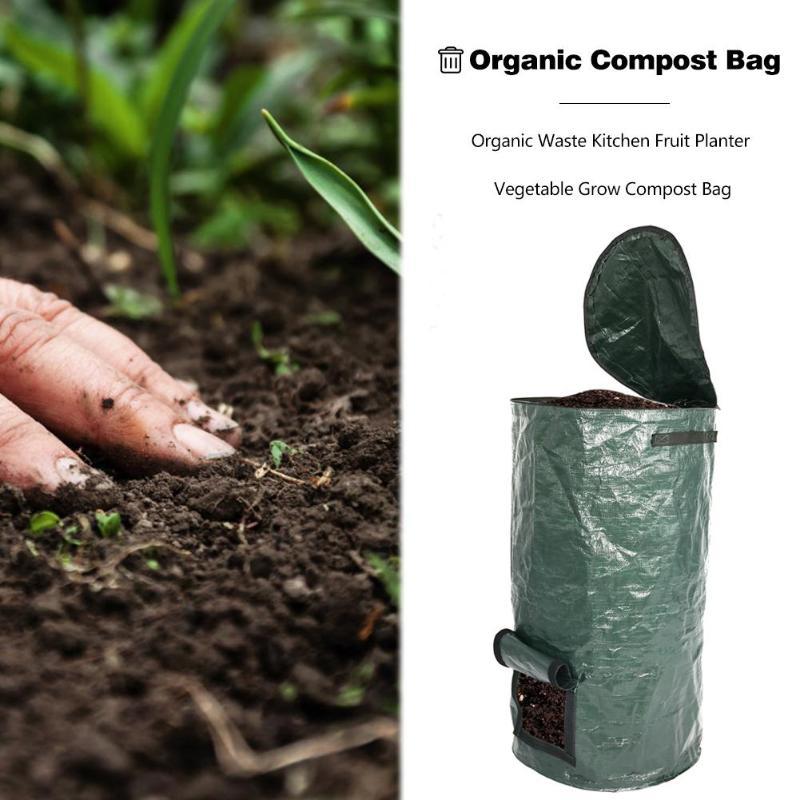 Probiotics Bags Ferment Kitchen Waste Disposal Homemade Organic Waste PE Compost Bag Vegetable Grow Bag Garden Supplies