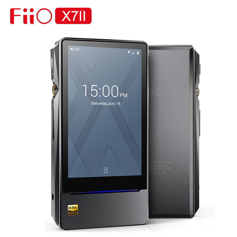 FiiO X7II x7 ii X7 Mark II with balanced Module AM3A Android-based WIFI Bluetooth 4.1 APTX Lossless DSD Portable Music Player image