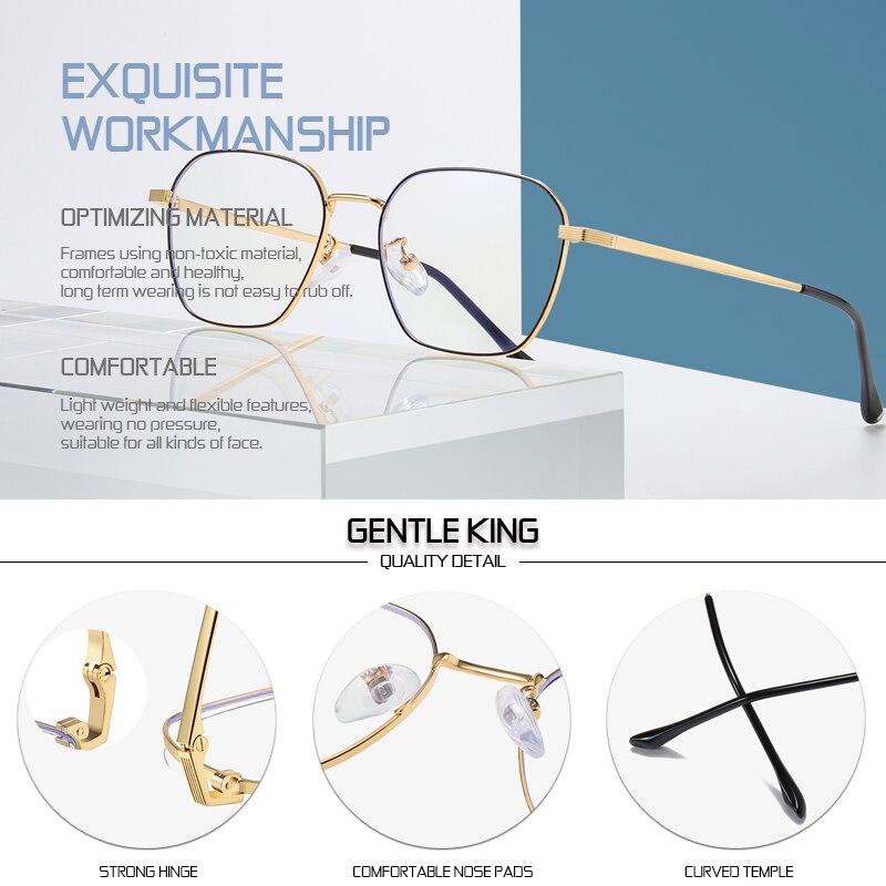 Купить нежный король синий светильник блокирующие очки для женщин и