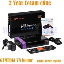 Бесплатно ДЕШИФРАТОР спутникового телевидения GTmedia V8 nova/honor CCcam Cline 2 года бесплатно как GTmedia V9 супер Европа cccam