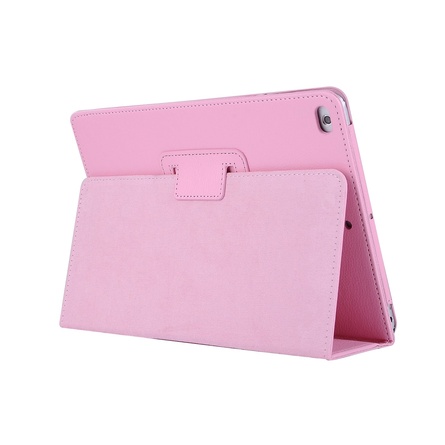 for iPad 10.2 pink Pink For Apple iPad 10 2 Case 2019 A2197 A2200 A2198 A2232 Foilo Stand PU Leather Cover