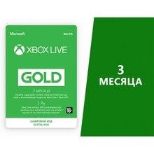 Карта оплаты Xbox LIVE: GOLD на 3 месяца [Цифровая версия]