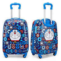 El nuevo 2020 de dibujos animados chico es de viaje bolsas maleta para chico s equipaje para niños rodante maleta caso bolsa de viaje sobre ruedas