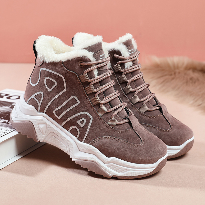2019 Genuine Leather Women sneakers Platform Daddy Sneakers Horsehair Shoes Casual Boots Breathable Mesh Woman Chunky Shoes 40