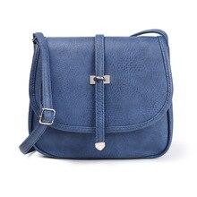 цена на Women Messenger Bags Fashion Casual Shoulder Bag PU Leather Ladies Crossbody Bag Handbag for Women Bolsa Feminina Bolsos Mujer