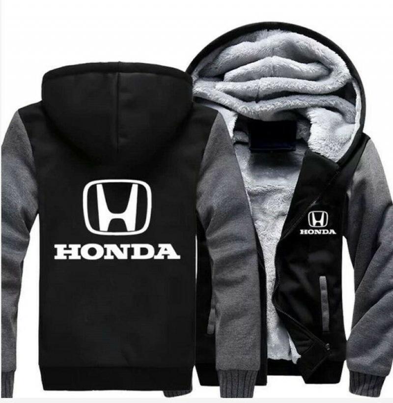 Hoodies For HONDA Men Fleece Sweater Jacket Warm Sweatshirt Cosplay Costumes YH