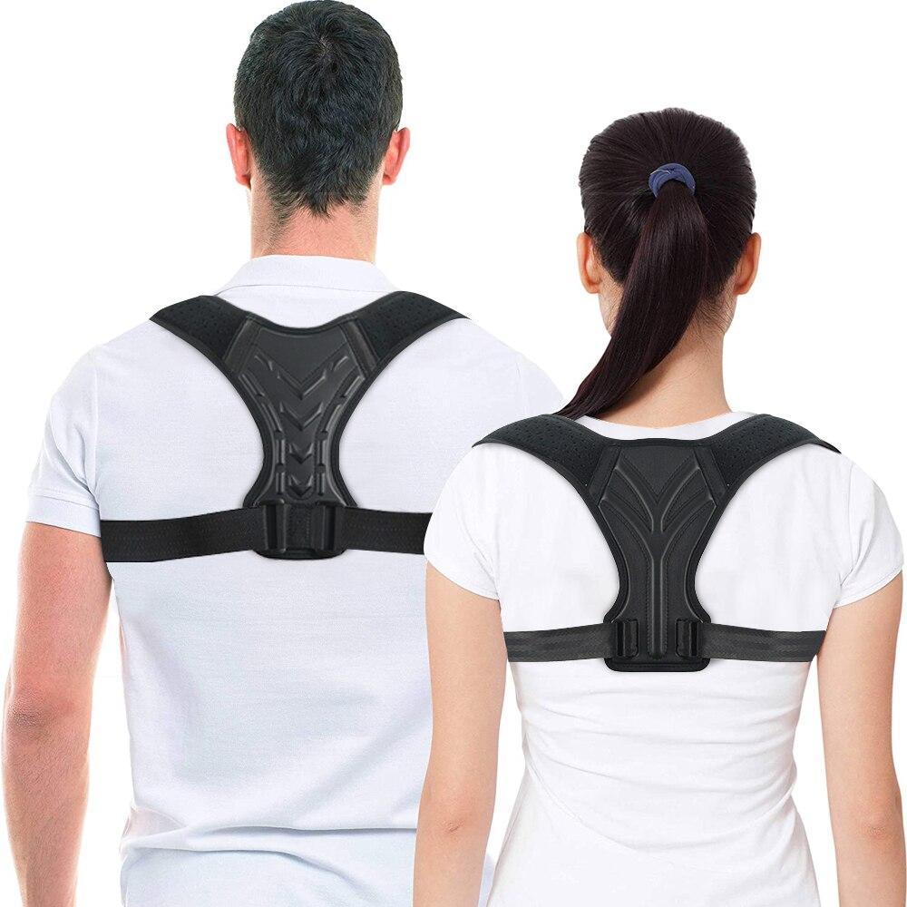 Корсет для верхней части спины выпрямитель коррекция осанки для поддержки ключицы удобный тренажер для осанки шеи спины плеча облегчение боли|Брекеты и подставки|   | АлиЭкспресс - Товары для здоровья: лучшее с Али