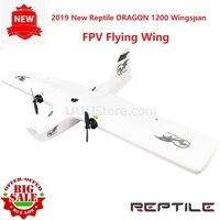 2019 New Reptile DRAGON 1200 Wingspan 1200mm FPV Flying Wing EPP Foam Support Runcam GoPro FPV Camera KIT PNP