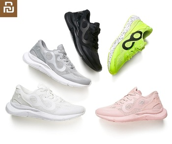 Youpin NEW Sneakers Men women Sports outdoor Shoes Mi smart sneaker High-elastic cushioning Knitting Breathable Shoes