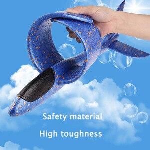 Image 2 - Quaslover 38*38 см 48*48 см летающая модель планеры, игрушка, самолет, летающая модель планеры, пенопластовый самолет, игрушки для детей, игры
