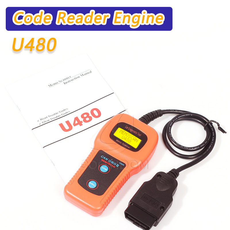 COOYIDOM U480 OBD2 Can Bus Engine Code Reader Code Reader OBDII Car Or Truck Auto Diagnostic Engine Scanner