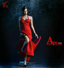 Женская юбка с разрезом VStoys, красная юбка с разрезом, масштаб 18x g14a, 1/6, F, 12 дюймов