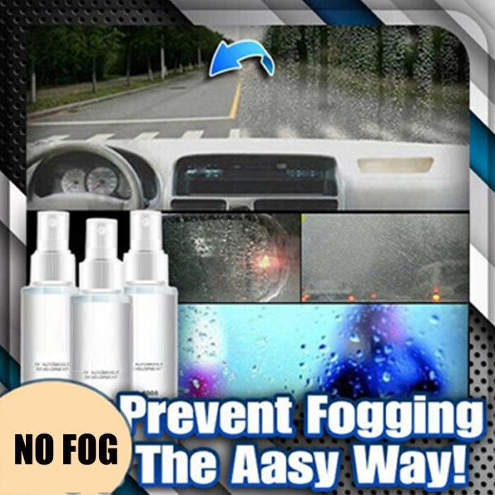Автомобиль стекло Анти-туман туманоустойчивый чистящий агент Спрей Инструмент DC120