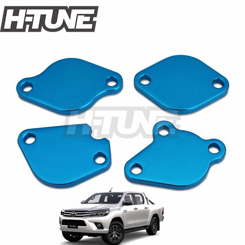 H-TUNE EGR płytka zaślepiająca otwór do Hilux REVO FORTUNER INNOVA 2.4L/2.8L 1GD 2GD 2015 +