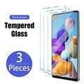 3 шт., Защитное стекло для экрана для Samsung Galaxy S7 S6 S5 Neo премиум класса, закаленное стекло для Galaxy S21 ультра S20 FE 5G S10 плюс S7 S6 край