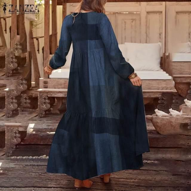 beautiful long dress, casual but sweet 5