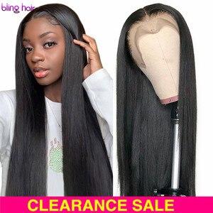 Длинные прямые парики 4x4 5x5 6x6 7x7, бразильские 13x4 13x6, парики из человеческих волос для женщин 28, 30 дюймов