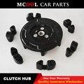 Для компрессора переменного тока ступица сцепления и резина для 5SE09C 5SL12C 5SEU12C 6SEU14C 6SEU17C 7SEU17C для Volkswagen AUDI BMW SKODA SEAT
