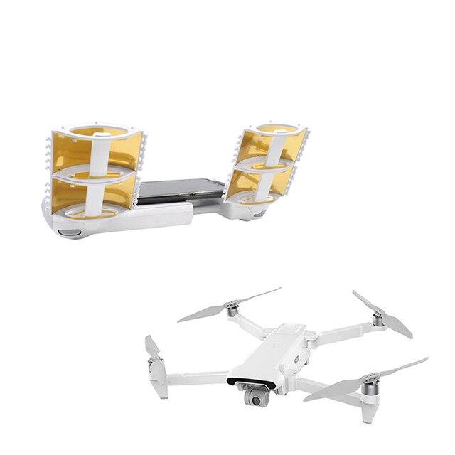 1 쌍은 xiaomi fimi x8 se drone 리모컨 액세서리 용 안테나 범위 확장기 신호 부스터를 향상시킵니다.