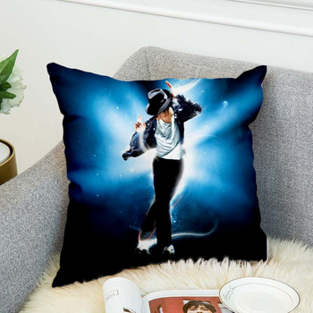 Michael Jackson Pillow Case Polyester Decorative Pillowcases Throw Pillow Cover style-4 marilyn monroe pillow case polyester decorative pillowcases throw pillow cover style 9