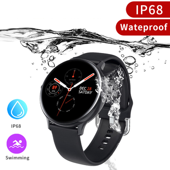 Zurexa S20 Smart Watch Men IP68 Fitness Sports Smartwatch Android ECG PPG Smart Watch Women Waterproof Smart Clock Round 2020 2