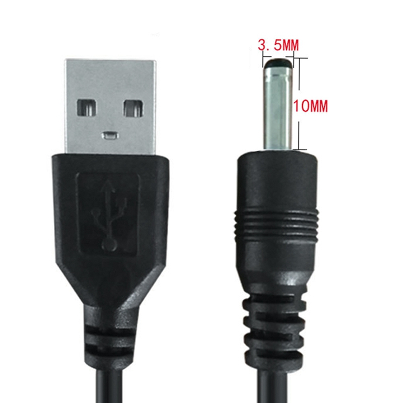 <font><b>USB</b></font> Male to <font><b>5.5</b></font>*2.1/4.0*1.7/3.5*1.35/2.5*0.7/2.0*0.6mm <font><b>DC</b></font> Jack Power <font><b>Cable</b></font> AC plug Transfer Connector Charger Converter image