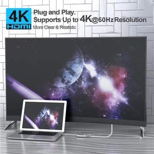 Image 5 - Адаптер для Macbook pro, Huawei Mate 30 Pro, USB Type C, HDMI, 4K