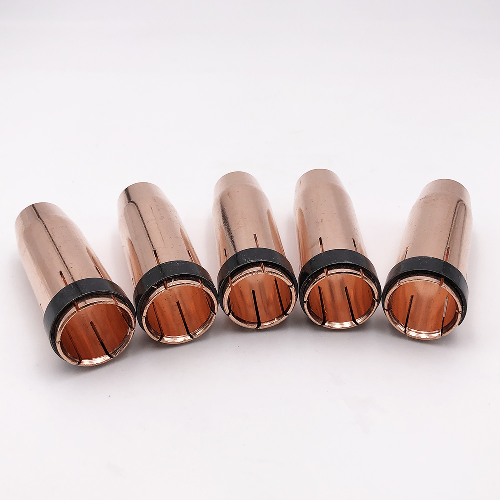Free shipping Mig Water Cooled Welding Torch Binzel Type MB 501D nozzle 10pcs
