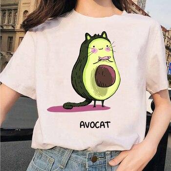 camiseta gato aguacate