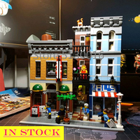 In Stock 15011 Detective Office Street View Creator Series LELE30008 Building Blocks 2262Pcs toys Compatible With bela 10246