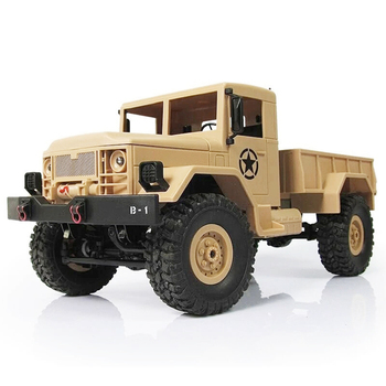 Hot Selling WPL B-1 RC Car 1/16 2.4G 4WD RC Crawler Off Road Car LBV