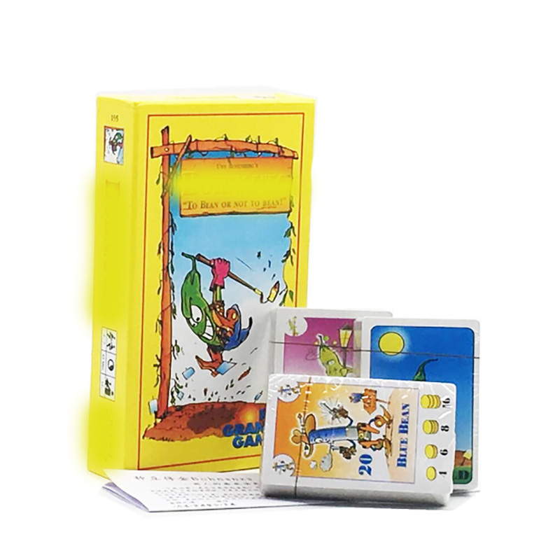 Bohnanza Board Game Newest Version For 2-7 Playing Card Game For Kids Send English Instructions